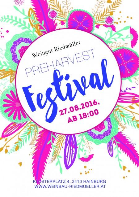 Weingut Riedmüller – PREHARVEST Festival 27. 08. 2016