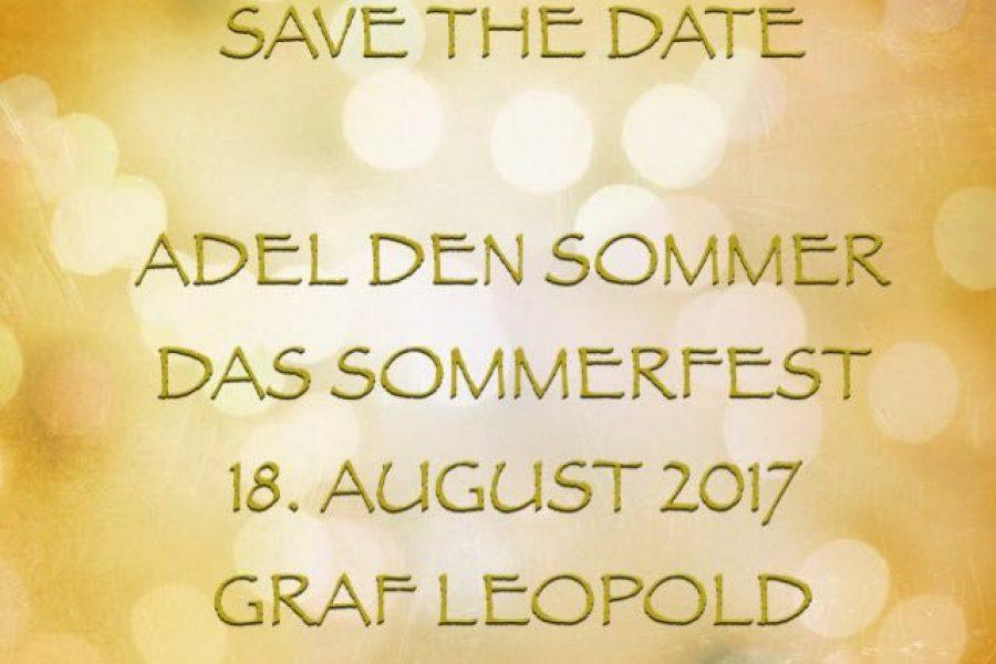 Adel den Sommer – Das Sommerfest 18.8.2017