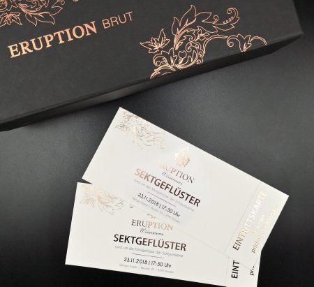 Eruption Winzerinnen Sektgeflüster 23.11.2018 um 17.30 Uhr