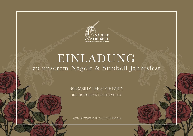 Nägele & Strubell Jahresfest am 8.11.2018