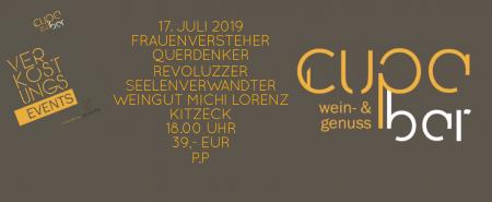 Verkostungs Events . Cupa Bar . Michi Lorenz Wein- Genuss- und Schlafgut . Kitzeck . 17. Juli 2019