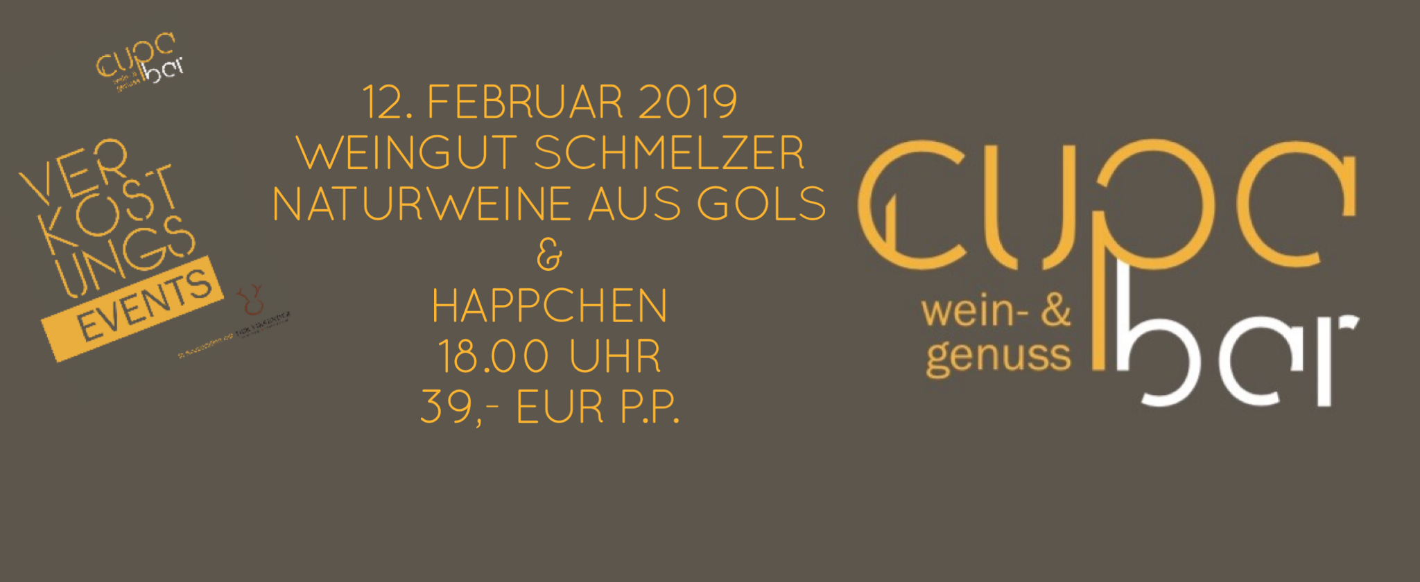 Verkostungs Events . Cupa Bar . Weingut Schmelzer . Gols . 12. Febraur 2019