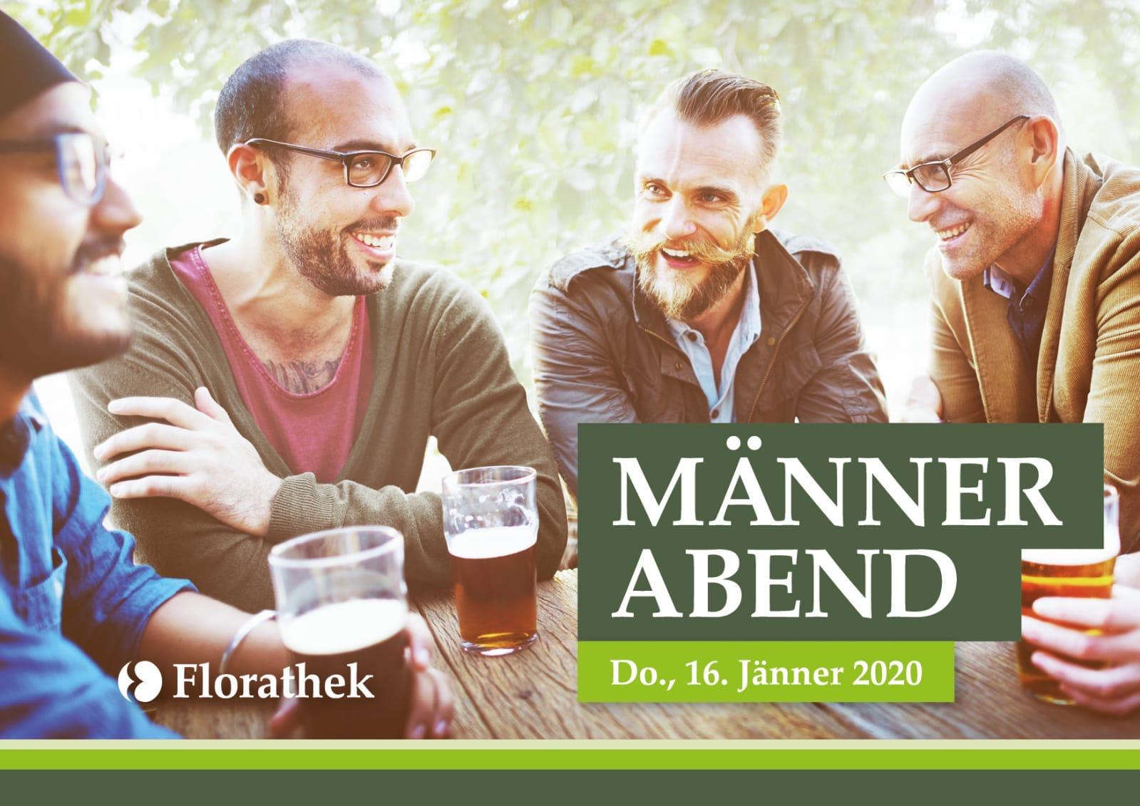 Männerabend in der Florathek Graz 16. Jänner 2020