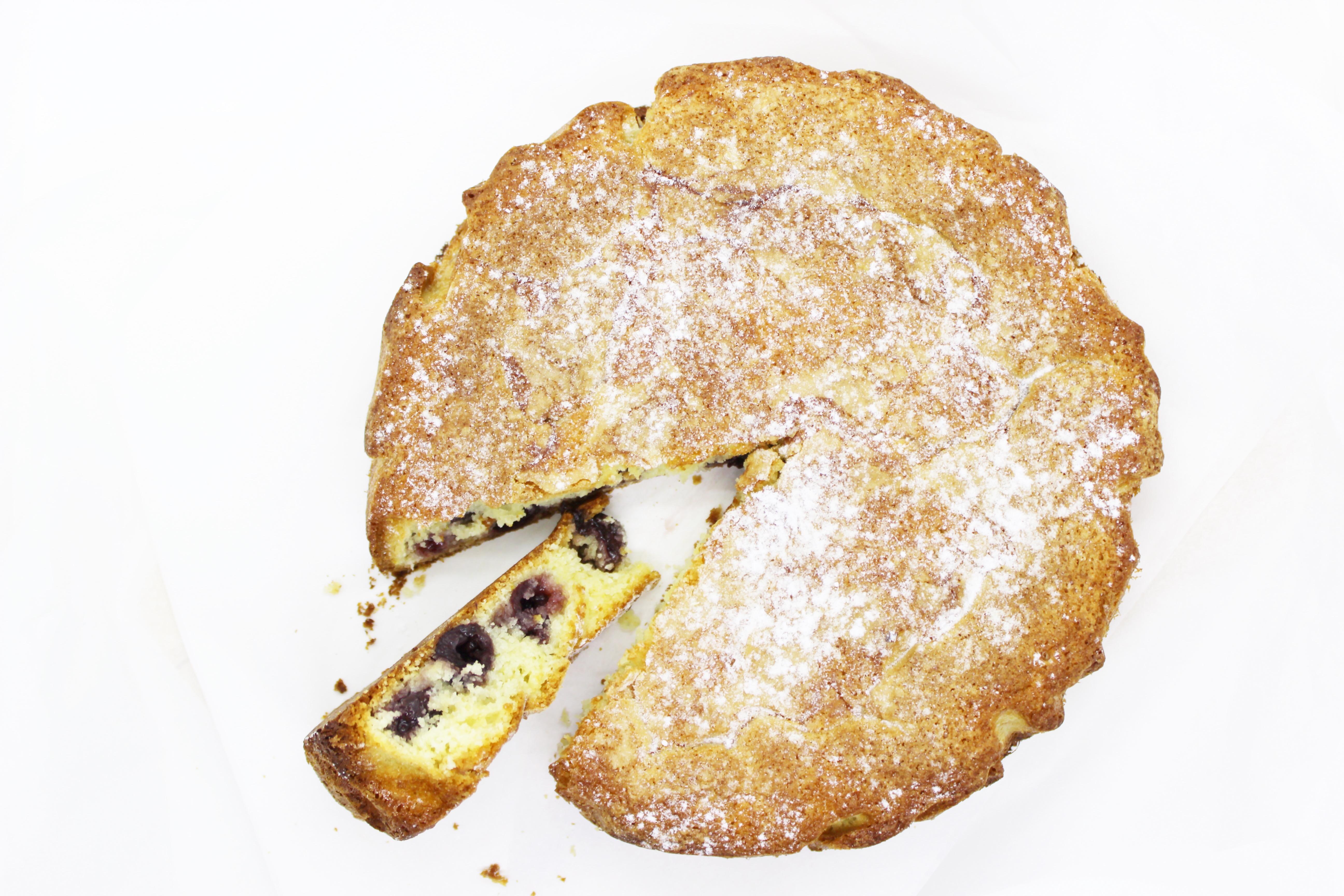 Andrea backt – Buttermilchkuchen mit Kirschen