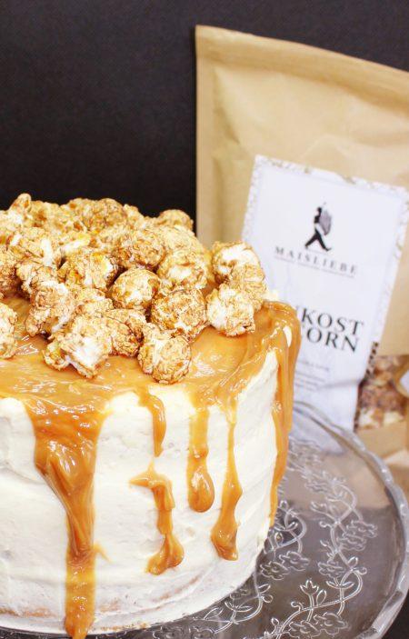 Andrea backt – Popcorn Torte mit Maisliebe Popcorn